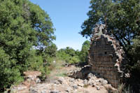 abandoned monastery