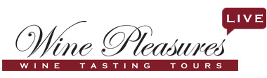 Wine Pleasures live wine tasting